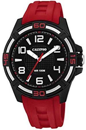 Calypso Reloj Analógico para Unisex Adultos de Cuarzo con Correa en Plástico K5760/3