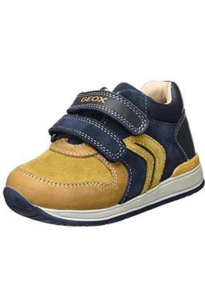 Geox B Rishon A, Zapatillas para Bebés, (Biscuit/Navy)