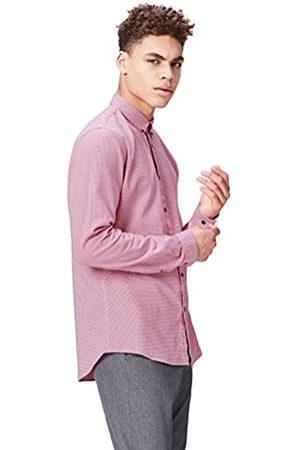 FIND Camisa de Cuadros Ajustada para Hombre