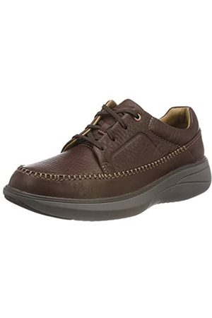 Clarks Un Rise Lace, Zapatos de Cordones Derby para Hombre, (Mahogany)
