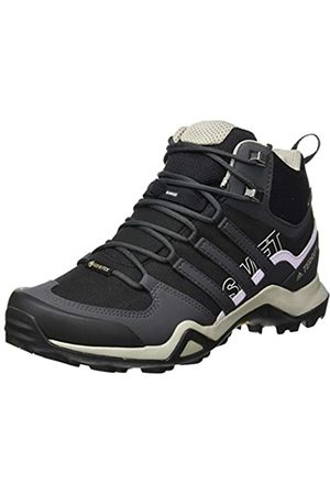 adidas Terrex Swift R2 Mid GTX W, Zapatillas para Carreras de montaña para Mujer, Núcleo / Oscuro/Tinte Púrpura
