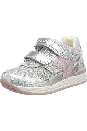Geox Rishon Bebé Niña S, Zapatos para Bebés, (Iridescent C0776)