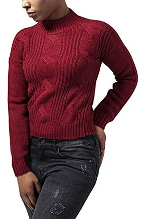 Urban Classics Ladies Short Turtleneck Sweater Suéter