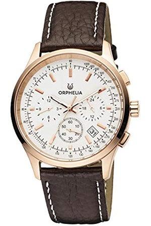 ORPHELIA Reloj Cronógrafo para Hombre de Cuarzo con Correa en Cuero OR81703
