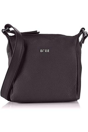 Bree Nola 1, ladies' handbag grained, Con asa. para Mujer, - (black 900)