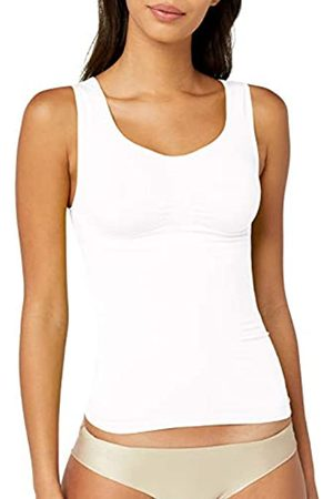 BELLY CLOUD Belly cloud Model-up Top - Camiseta moldeadora Mujer, (WeiÃY 099)