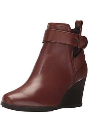 Geox D Inspiration Wedge D, Botas para Mujer, (Brown)