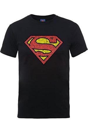 DC Comics Camiseta de Manga Corta con Cuello Redondo para Hombre