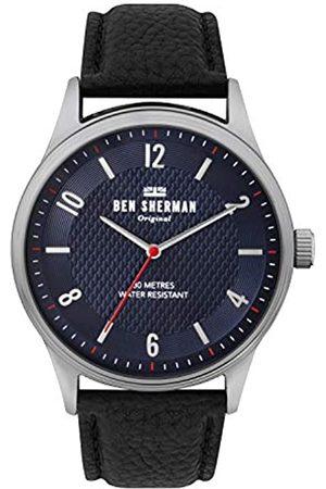 Ben Sherman Reloj Analógico para Hombre de Cuarzo con Correa en Cuero WB025UB