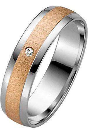 Trauringe Liebe hoch zwei Liebe²05003621703856-Anillounisexdeorobicolor(8k)con1diamante(talla:16)