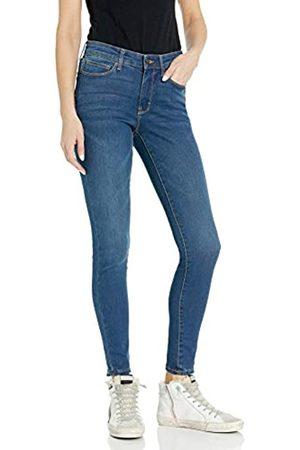 Goodthreads Mid-Rise Skinny Jeans, Blue)