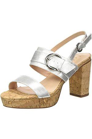Lotus Romilly, Zapatos de tacón con Punta Abierta para Mujer, (Silver JJ)