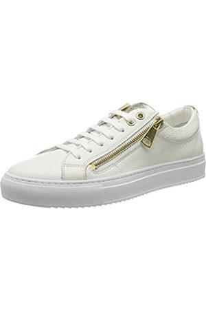 HUGO BOSS Hoxton Low Cut-MGR 10195704 01, Zapatillas para Mujer, (White 100)