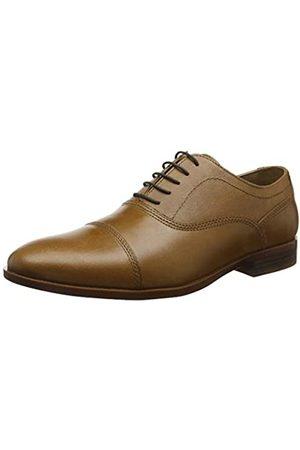 REK69|#Red Tape Hadlow, Zapatos de Cordones Oxford para Hombre, (Tan 0)