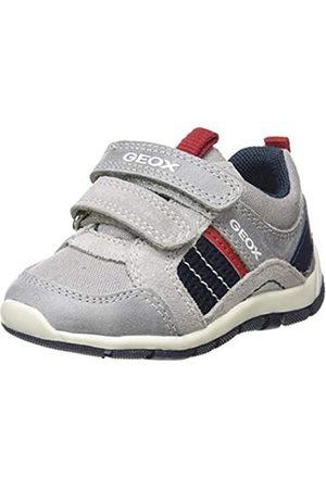 Geox B Shaax A, Zapatillas para Bebés, (Grey/Navy C0665)