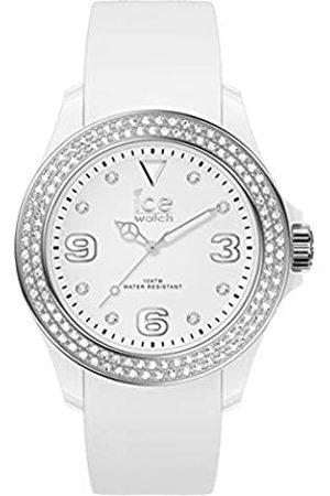 Ice-Watch ICE star White silver - Reloj para Mujer con Correa de silicona