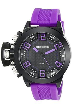 CEPHEUS CP901-620 - Reloj analógico de Cuarzo para Hombre con Correa de Silicona