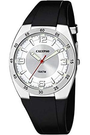 Calypso Reloj Analógico para Unisex Adultos de Cuarzo con Correa en Plástico K5753/1