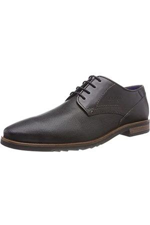 Bugatti 312539011000, Zapatos de Cordones Derby para Hombre, (Schwarz 1000)