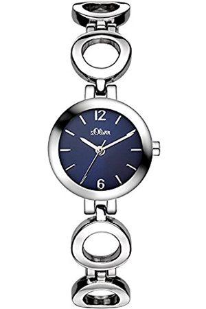 s.Oliver Reloj para Mujer con Correa de Aleación – SO-3015-MQ