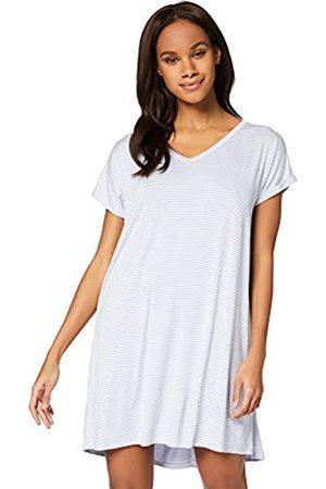IRIS & LILLY AMZ20SSG02 Camisetas de Noche para Mujer