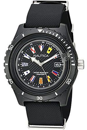 Nautica Hombre Relojes - RelojAnalogicoparaHombredeCuarzoconCorreaenSiliconaNAPSRF001