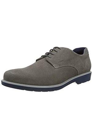 Geox U Raffaele B, Zapatos de Cordones Derby para Hombre, (Grey C1006)