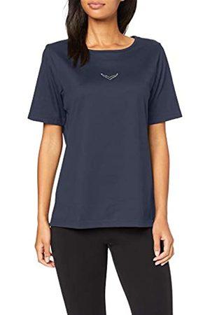 Trigema T-Shirt Deluxe mit Swarovski Kristallen Camiseta