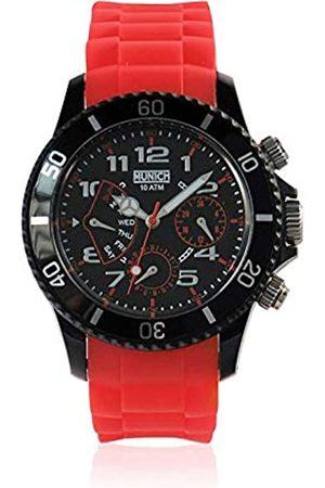 Munich Reloj Analógico-Digital para Unisex Adultos de Cuarzo con Correa en Caucho MU119.4A