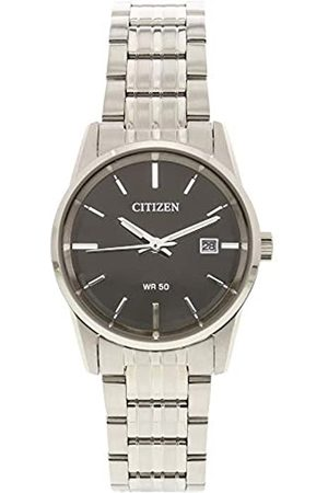 Citizen Reloj Analógico para Mujer de Cuarzo con Correa en Acero Inoxidable EU6000-57E