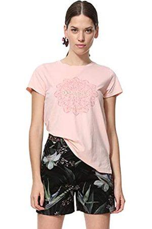 Desigual T-Shirt Short Sleeve Manchester Woman Pink Camiseta