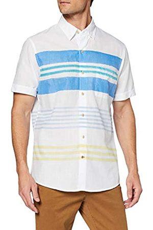 Izod Horizontal Stripe Print SS Shirt Camisa