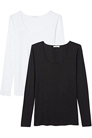 Daily Ritual Jersey Long-Sleeve Scoop Neck T-Shirt Camiseta
