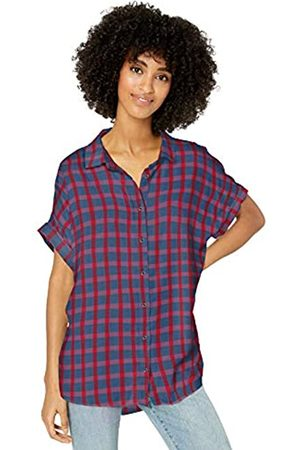 Goodthreads Modal Twill Short-Sleeve Button-Front Shirt Dress-Shirts