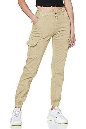 Urban Classics Ladies Hose High Waist Cargo Pants Pantalones de Vestir
