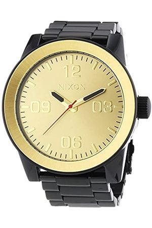 Nixon Reloj Analógico para Hombre de Cuarzo con Correa en Acero Inoxidable A346-010-00