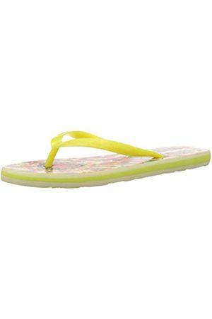Desigual Shoes Flores - Sandalias de Material sintético para Mujer, Color