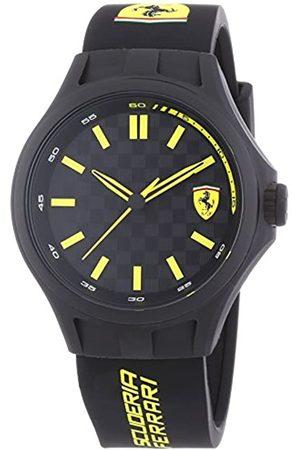 Scuderia Ferrari Watches Pit Crew - Reloj, con Correa de Acero Inoxidable