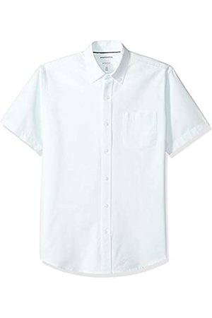 Amazon – Camisa Oxford de manga corta de corte recto para hombre