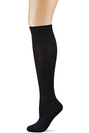 Kunert Soft Wool Cotton Calcetines altos, 100 DEN