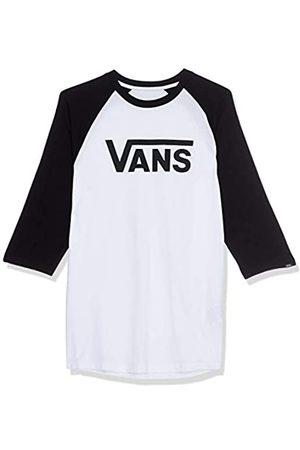 Vans Herren Classic Raglan T-Shirt, Mehrfarbig (White-Black YB2)