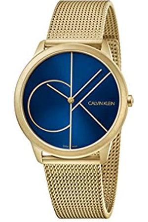 Calvin Klein Reloj Analógico para Hombre de Cuarzo con Correa en Acero Inoxidable K3M5155N