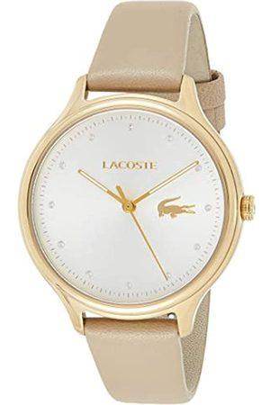 Lacoste Reloj Análogo clásico para Mujer de Cuarzo con Correa en Cuero 2001007