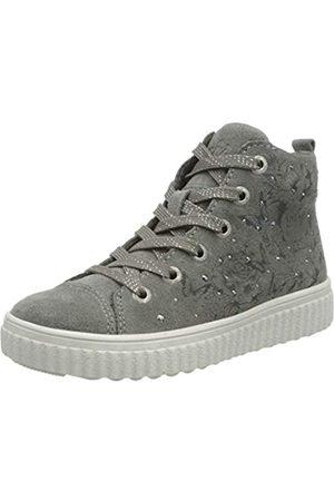 Lurchi NAZOU, Zapatillas Altas para Niñas, (Grey 25)