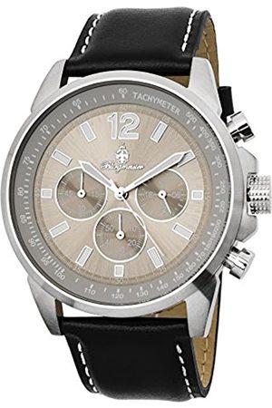 Burgmeister Reloj de Cuarzo Man 608-112 46 mm
