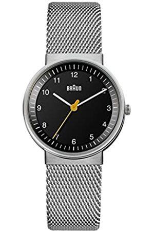 von Braun BN0031BKSLMHL - Reloj análogico de cuarzo con correa de acero inoxidable para mujer