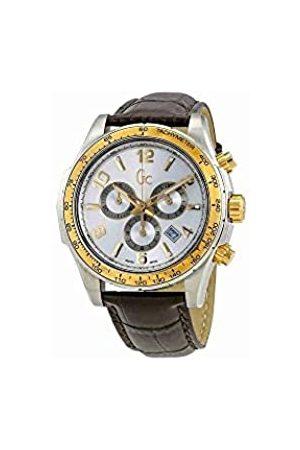 Guess Reloj Cronógrafo para Hombre de Cuarzo con Correa en Cuero X51005G1S