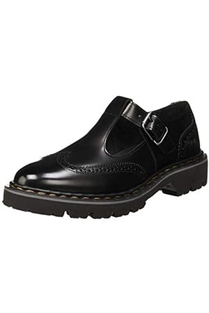 Art 1178 Florenti Cambridge, Zapatos de Cordones Brogue para Mujer, (Black Black)