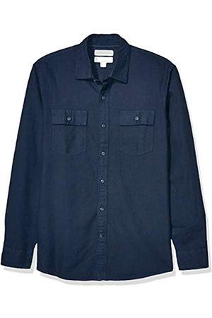 Goodthreads Standard-Fit Long-Sleeve Plaid Twill Shirt Button-Down-Shirts