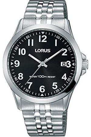 Lorus Watches Reloj Unisex de Analogico con Correa en Chapado en Acero Inoxidable RS971CX9